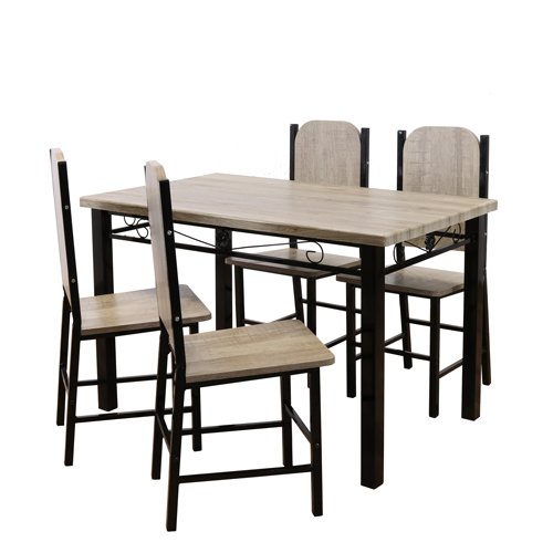 DINING SET TABLE WITH FOUR CHAIRS