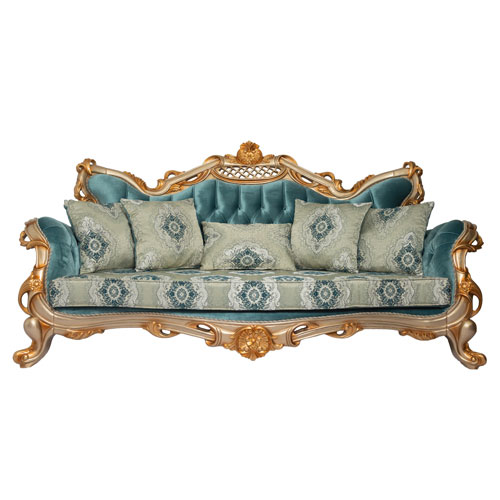 Sofa ROYAL GOLD BLUE